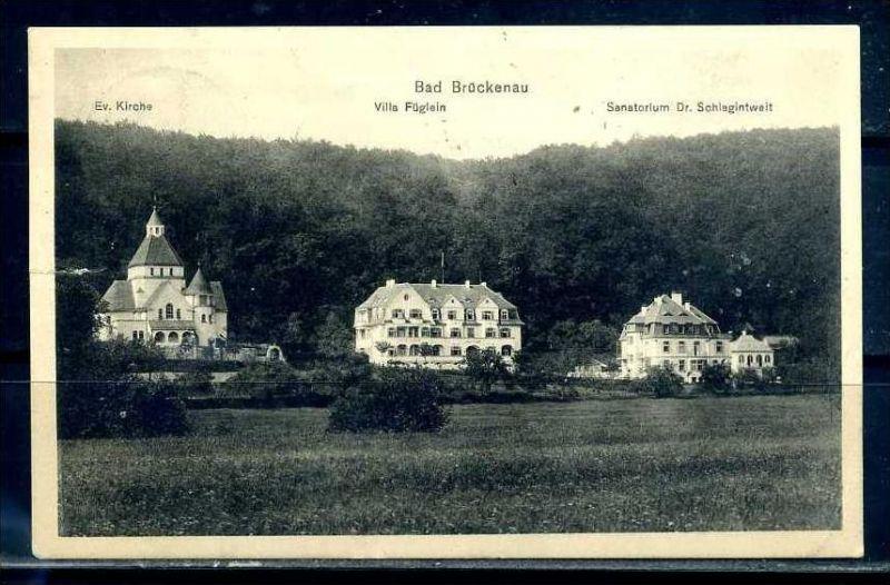 K10466)Ansichtskarte: Bad Brückenau