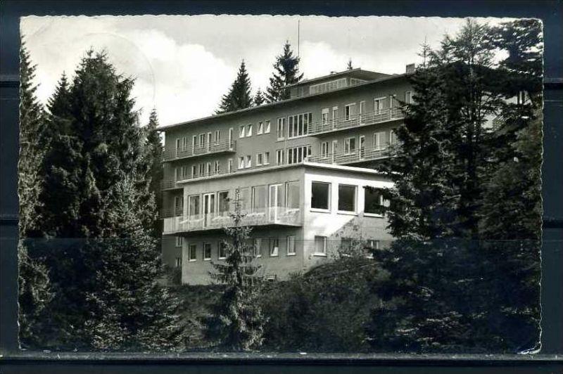 K10441)Ansichtskarte: Sand - Schwarzwaldhochstr., Friedrich-Hilda-Heim