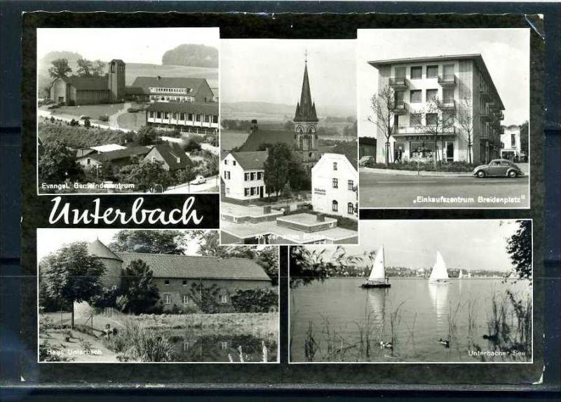 K10438)Ansichtskarte: Unterbach