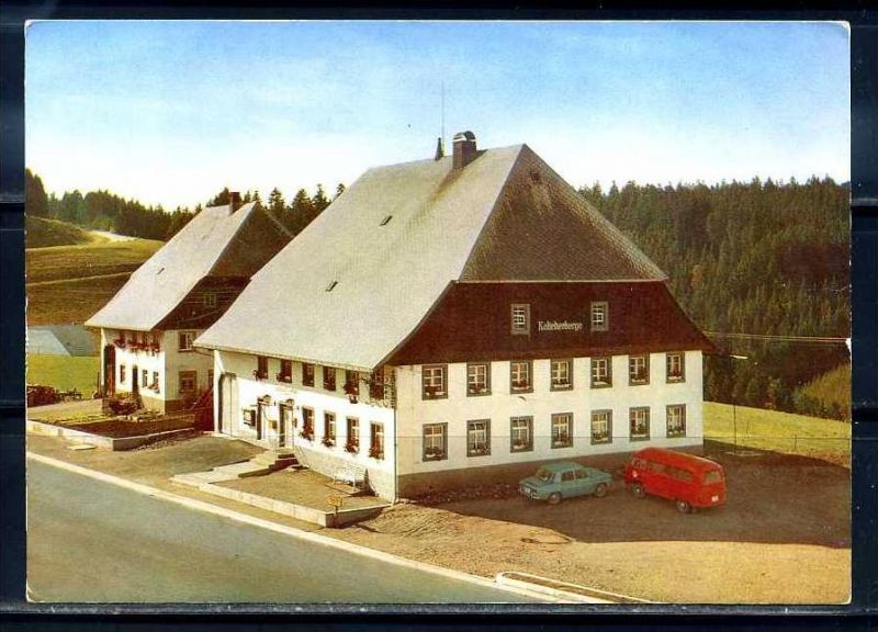 K10435)Ansichtskarte: Vöhrenbach, Gasthaus Kalte Herberge