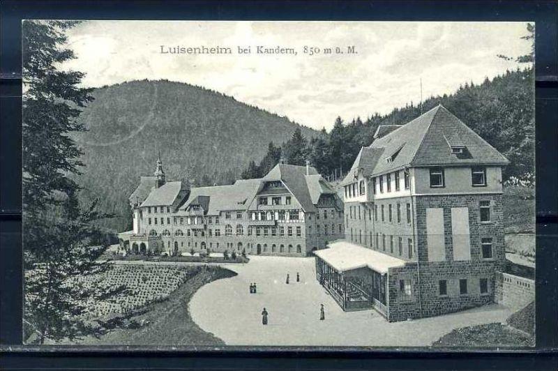 K10424)Ansichtskarte: Luisenheim bei Kandern