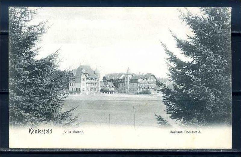 K10419)Ansichtskarte: Königsfeld