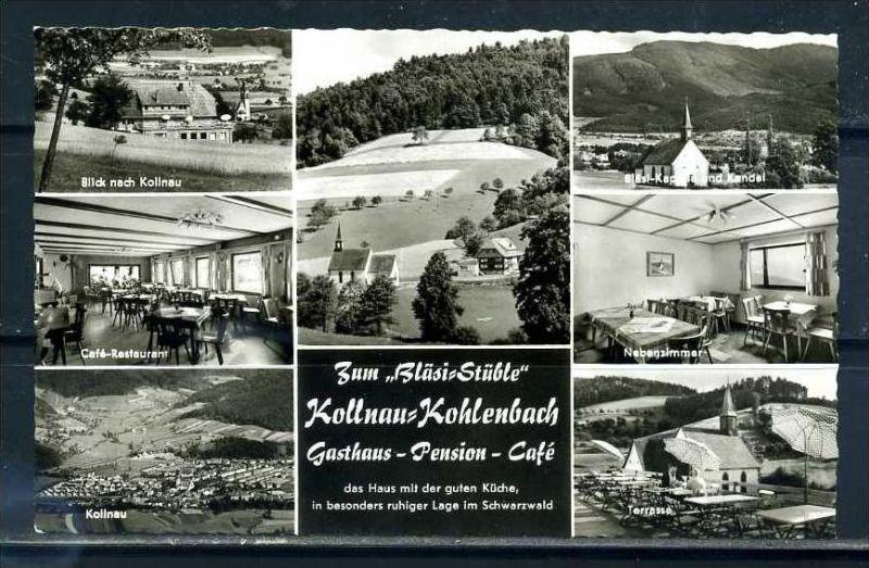 K10418)Ansichtskarte: Kollnau - Kohlenbach