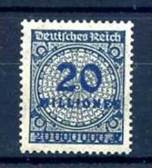 Z58720)DR 319 b**, best. gepr. INFLA