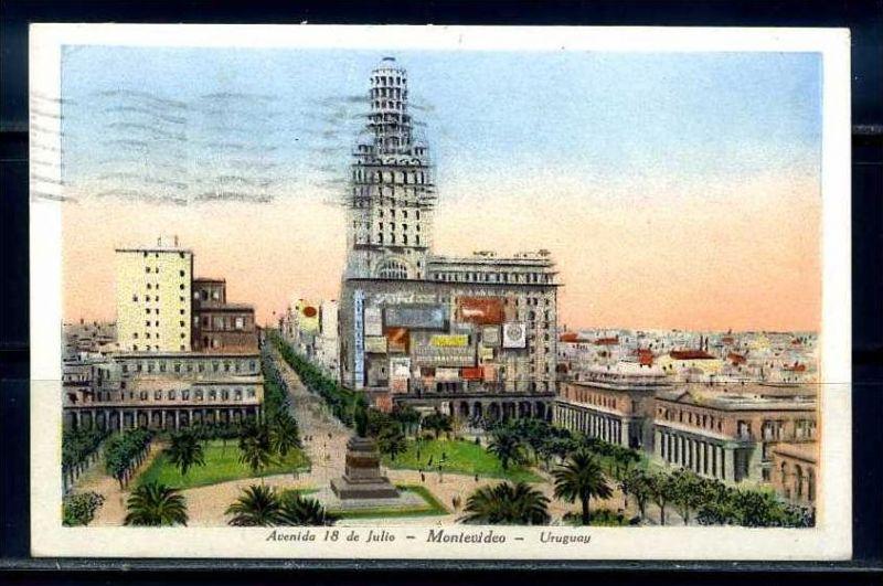 K9554)Ansichtskarte: Montevideo