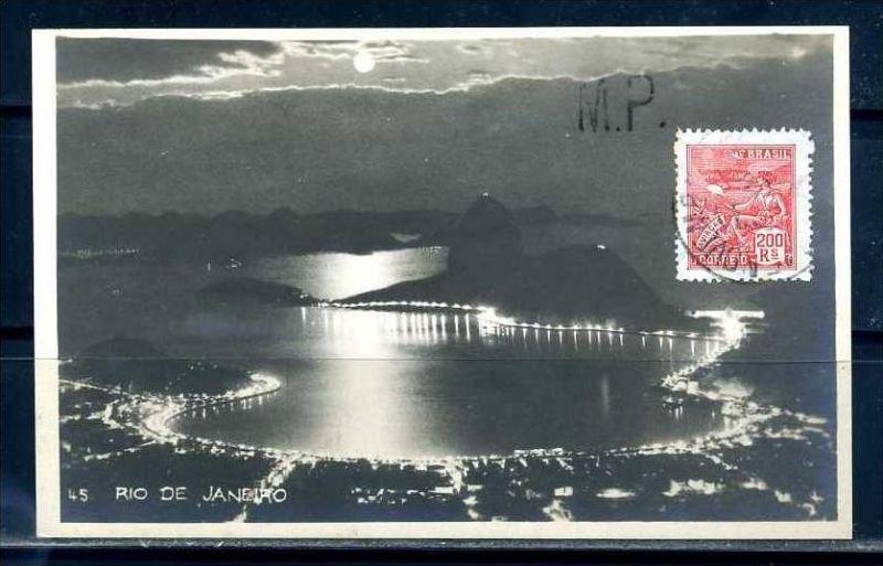 K9553)Ansichtskarte: Rio de Janeiro