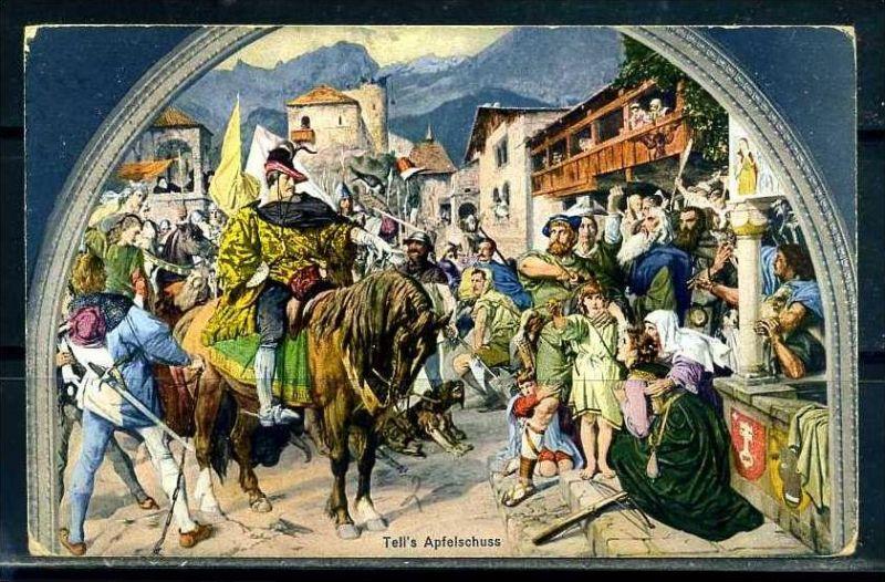 K9551)Ansichtskarte: Wilhelm Tell
