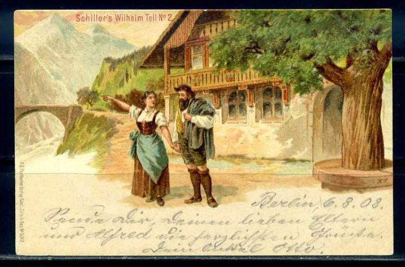K9550)Ansichtskarte: Wilhelm Tell