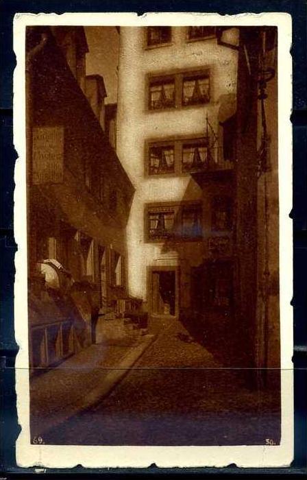 K9546)Ansichtskarte: Zürich, Altstadt - Kellerhaus