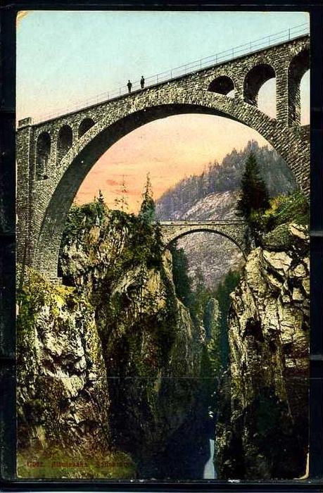K9412)Ansichtskarte: Albulabahn