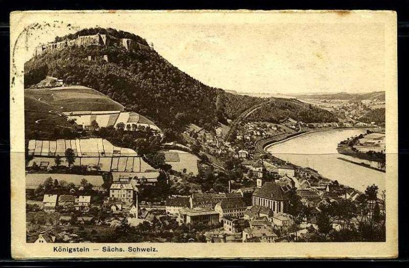 K2110)Ansichtskarte Königstein