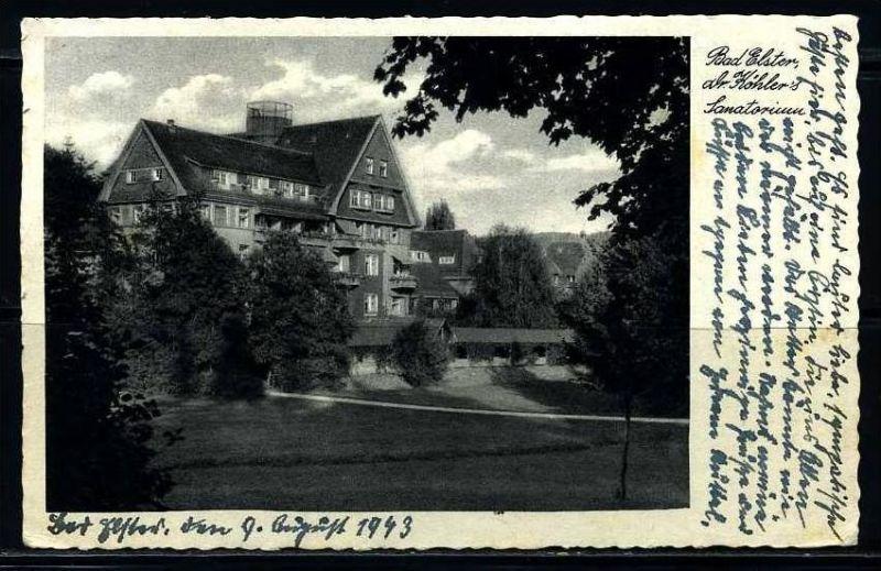 K2104)Ansichtskarte Bad Elster