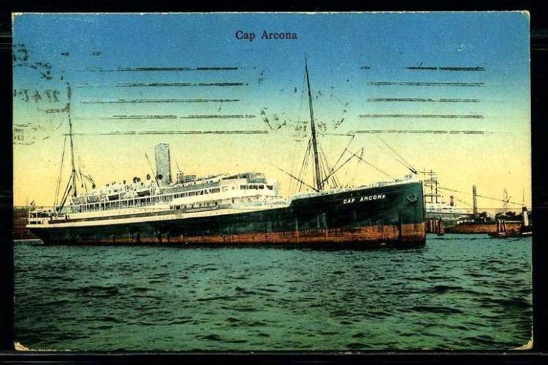 K2044)Ansichtskarte Passagierschiff Cap Arkona