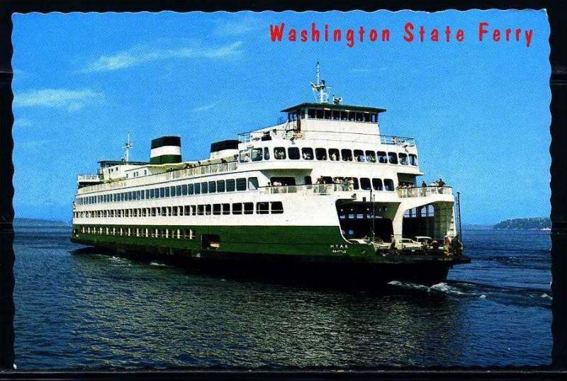 K2016)Ansichtskarte Passagierschiff Hyak