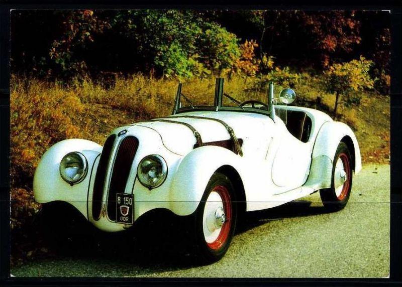 K3451)Ansichtskarte BMW 327/28 Baujahr 1938
