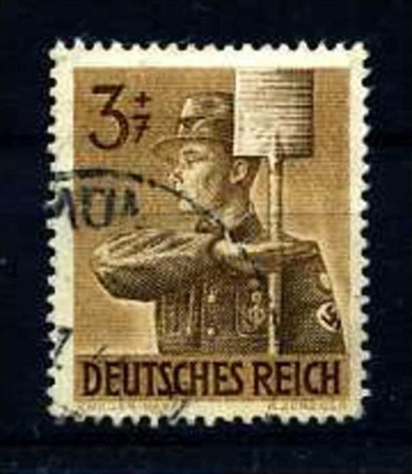 Z08167)DR Plattenfehler 850 I gest.
