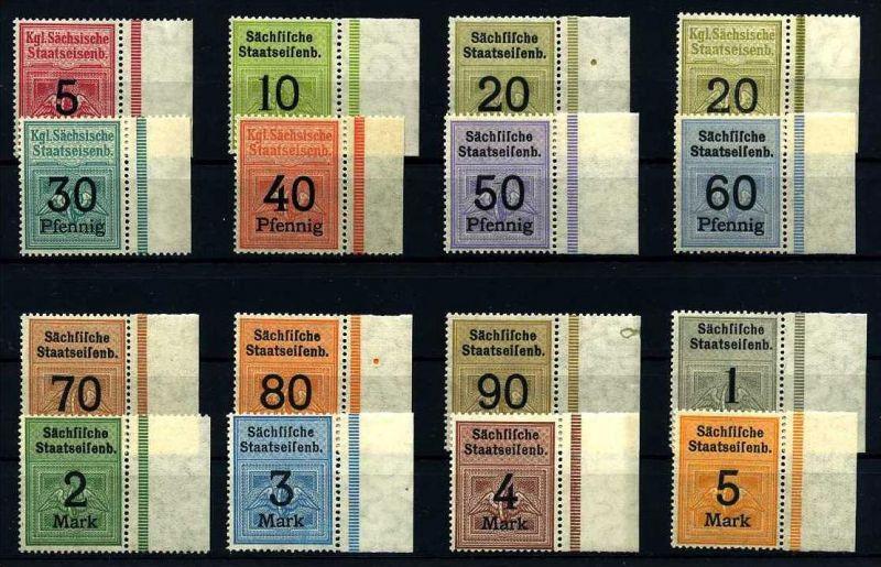 Z14973)Eisenbahnmarken der Sächsischen Staatseisenbahn**