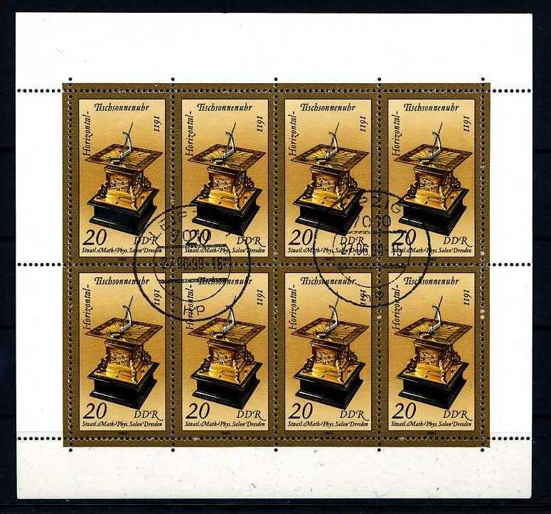 Z16774)DDR Plattenfehler 2798 I KLB gest.