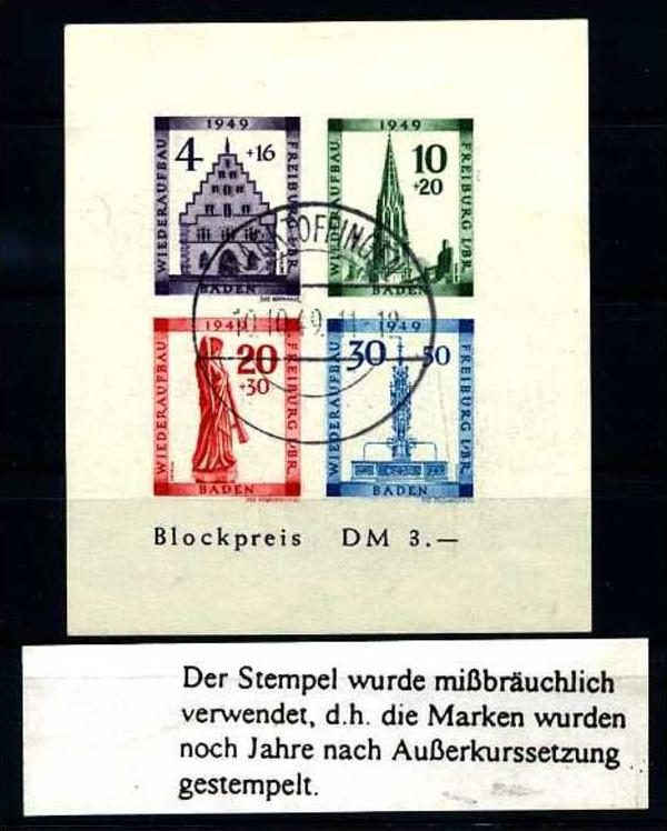 Z16892)Franz. Zone Württemberg 51/52 gest. Nr. 522379013 - oldthing ...