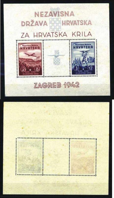 Z18050)Kroatien Bl 2**