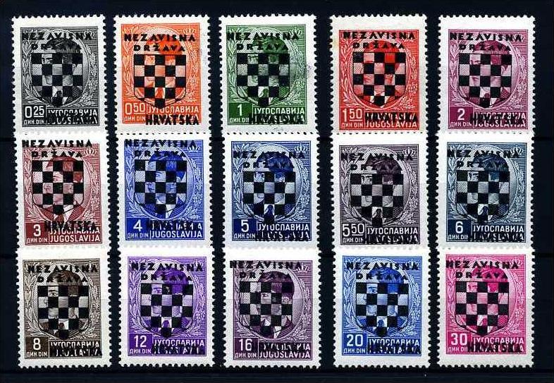 Z19748)Kroatien 9/23*, Erstfalz