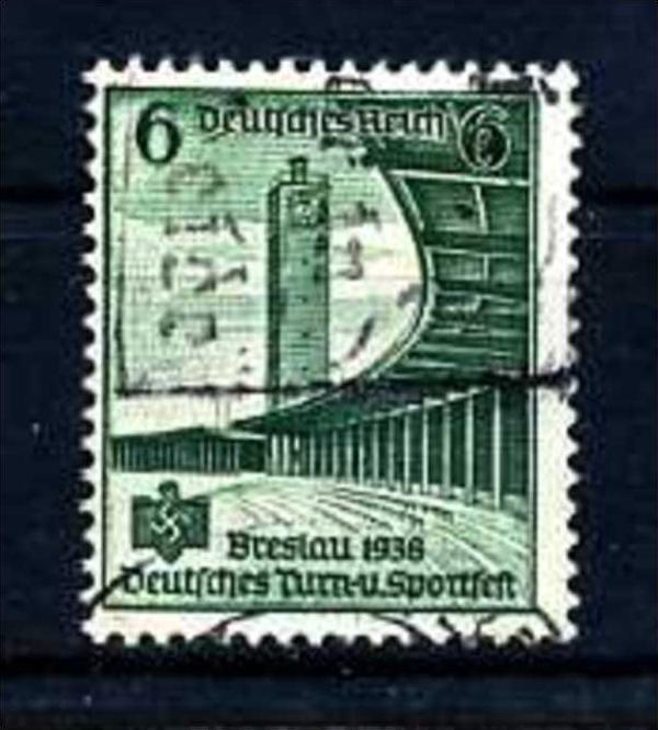 Z21543)DR Plattenfehler 666 I gest., best. gepr. Peschl