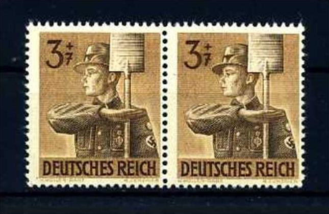 Z28177)DR Plattenfehler 850 I Paar**
