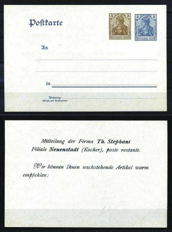 Z29380)DR Germania-Privat-GA, ungebraucht