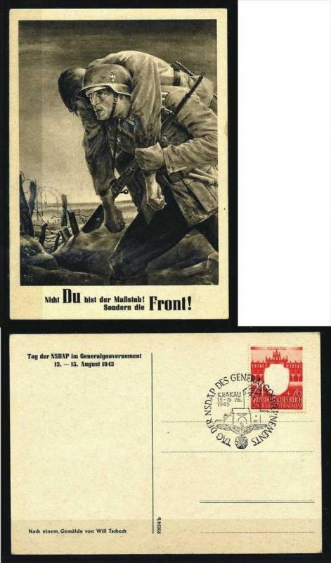 Z34542)GG Sonderkarte 1943
