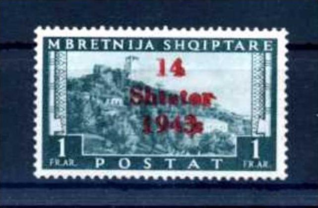 Z39885)Albanien 11 nette Abart**