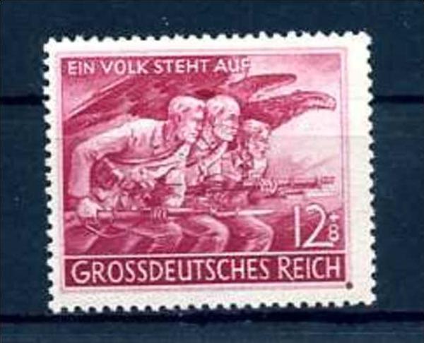 Z46026)DR Plattenfehler 908 V**, best. gepr. Schlegel