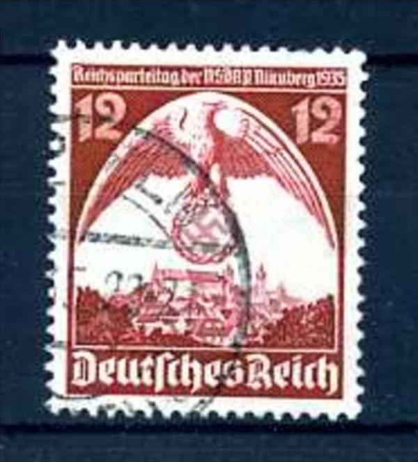 Z46631)DR Plattenfehler 587 I gest.