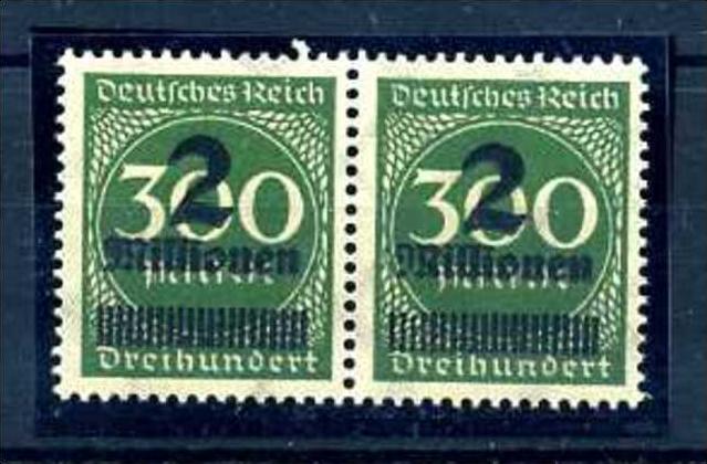 Z46634)DR Plattenfehler 310 V Paar**