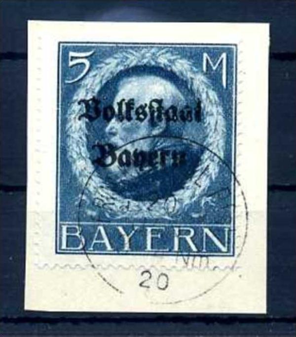Z60182)Bayern 131 II A Bfst., gepr. INFLA