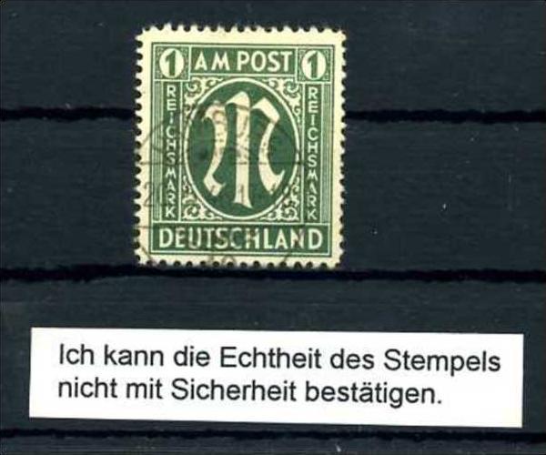 Z60512)Bizone 35 gest., Anmerkung Schlegel anbei Nr. 584923138 ...