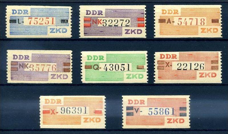 Z60665)DDR Dienst B III-X**