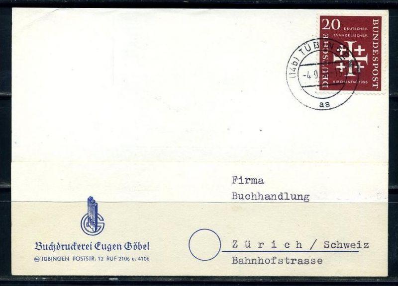 E25087)Bund 236 Karte in die Schweiz