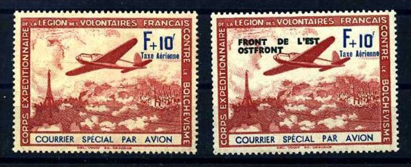 Z23736)Frankreich Legion III + V