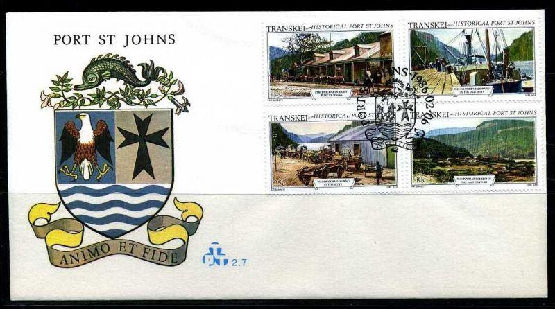 E01140)Transkei FDC 1180/3 Port St. Johns