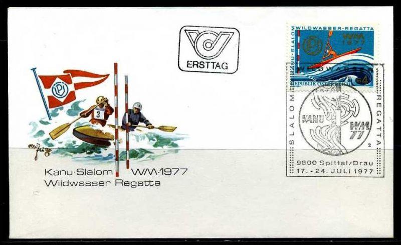 E01778)Österreich FDC 1555 Sport