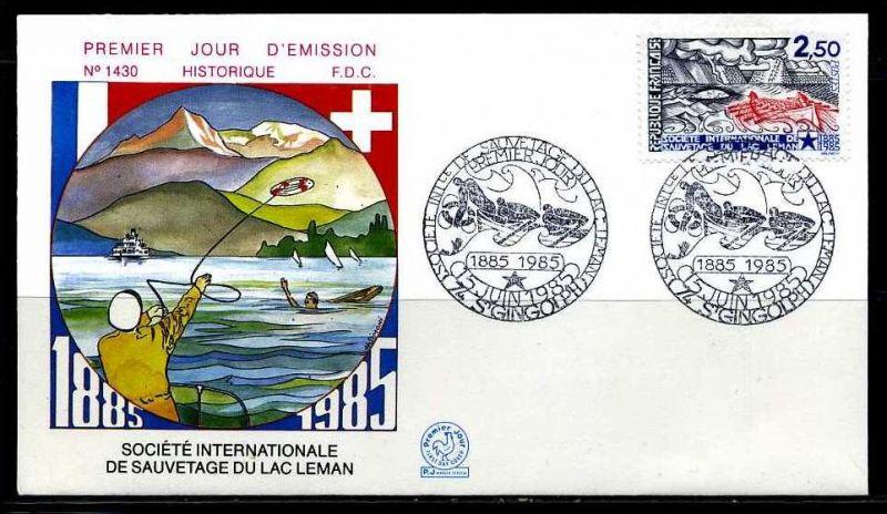 E02083)Frankreich FDC 2506