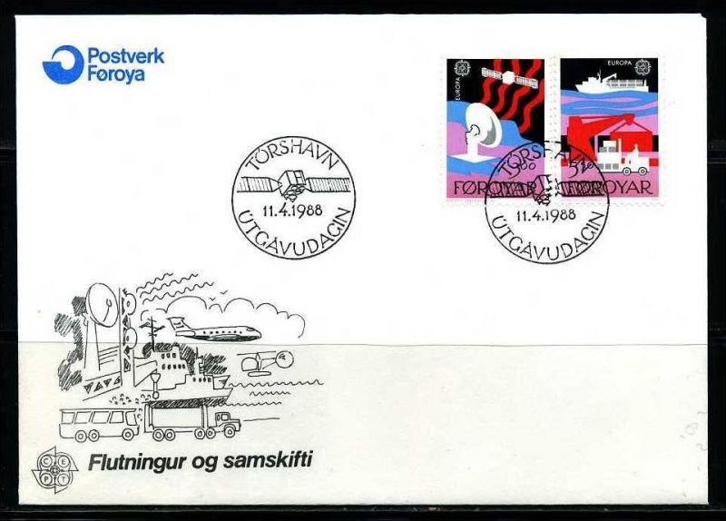 E02135)Färöer Inseln FDC 166/7