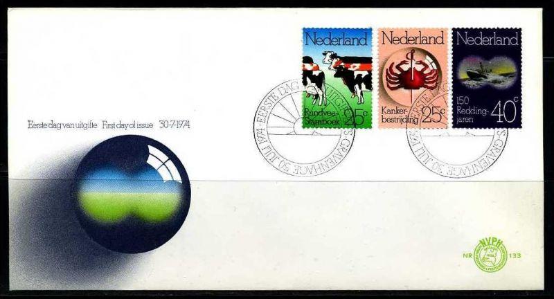 E02382)Niederlande FDC 1032/4 0