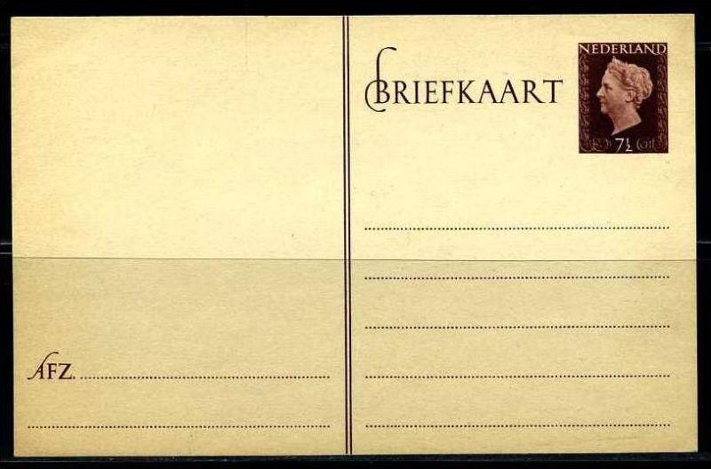 E02612)Niederlande Ganzsache P 238(*) 0