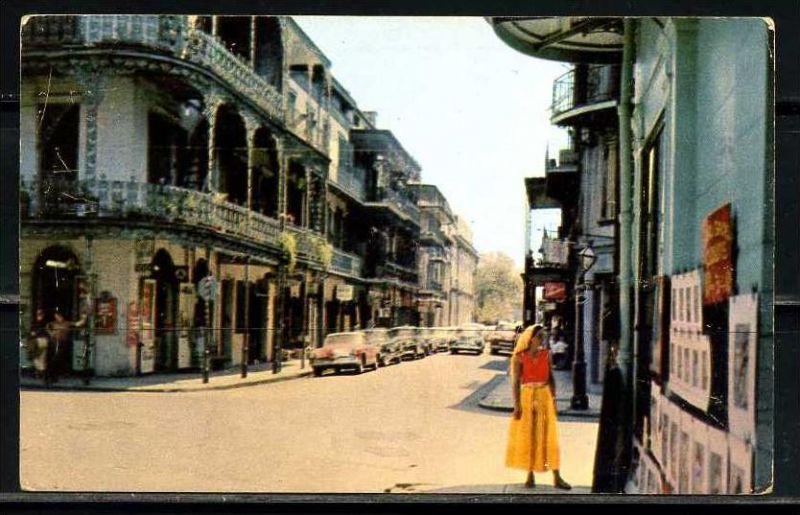 K11017)Ansichtskarte: New Orleans