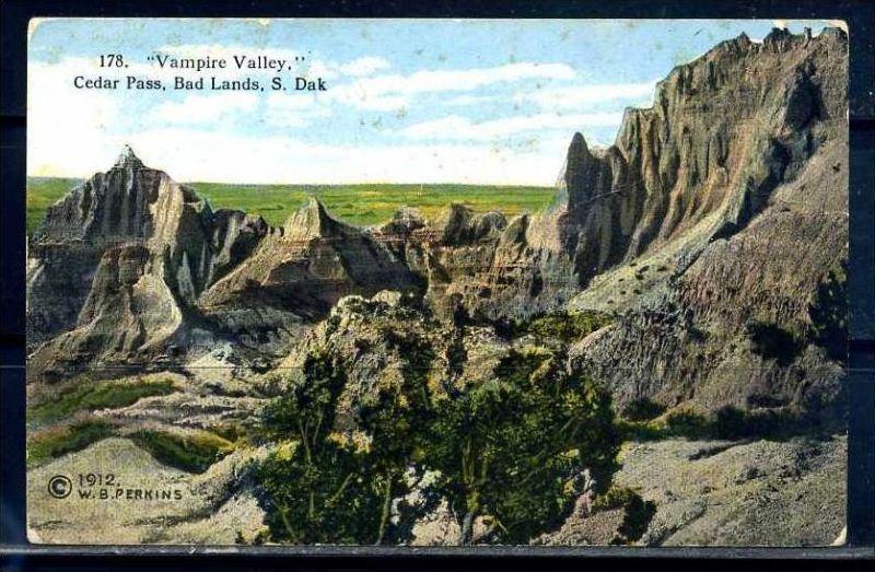 K11020)Ansichtskarte: Vampire Valley, Cedar Pass