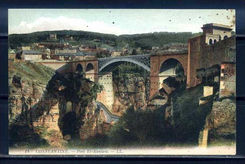 K11023)Ansichtskarte: El Kantara, Brücke