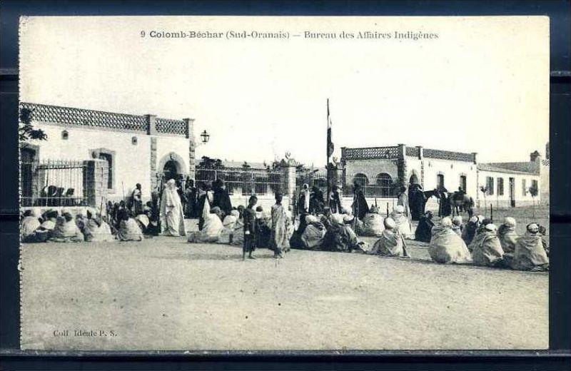 K11027)Ansichtskarte: Bechar, Eingeborenenbüro