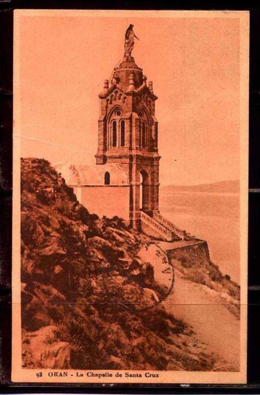 K11030)Ansichtskarte: Oran, Kapelle Santa Cruz