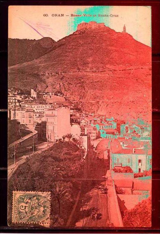 K11031)Ansichtskarte: Oran, Basse-Ville